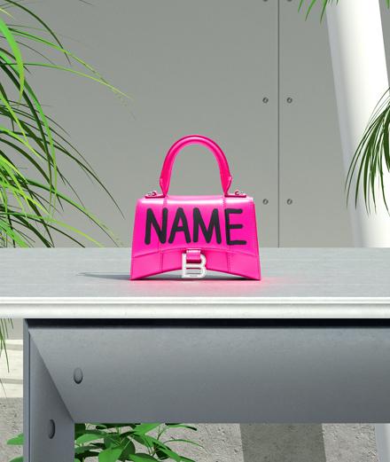 Un graffeur personnalise les sacs Balenciaga