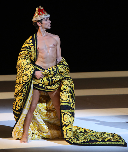 The day Versace paid tribute to Freddie Mercury