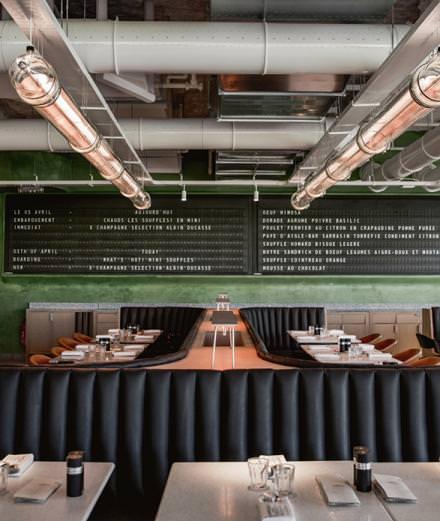 Quatre restaurants à découvrir cet automne