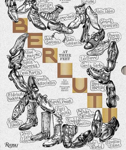 """Berluti célèbre 120 ans de création avec l'ouvrage """"At Their Feet"""""""