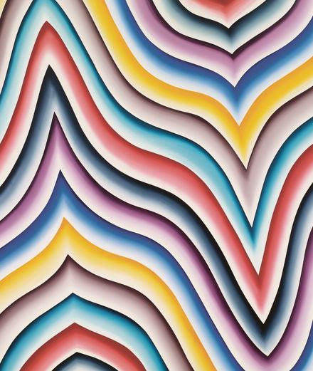 Les folies colorées de Bernard Frize au Centre Pompidou et à la galerie Perrotin