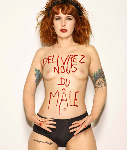 Les Femen vues par Bettina Rheims