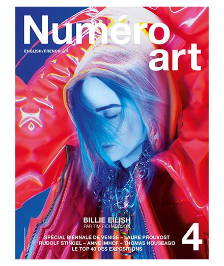 La pop star Billie Eilish en couverture du nouveau Numéro art