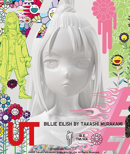 Takashi Murakami invite Billie Eilish sur des tee-shirts pour Uniqlo
