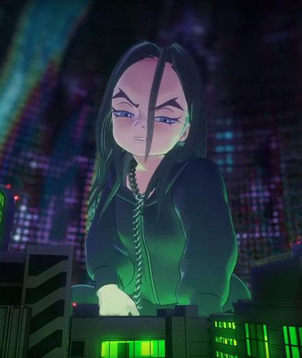 Takashi Murakami transforme Billie Eilish en avatar
