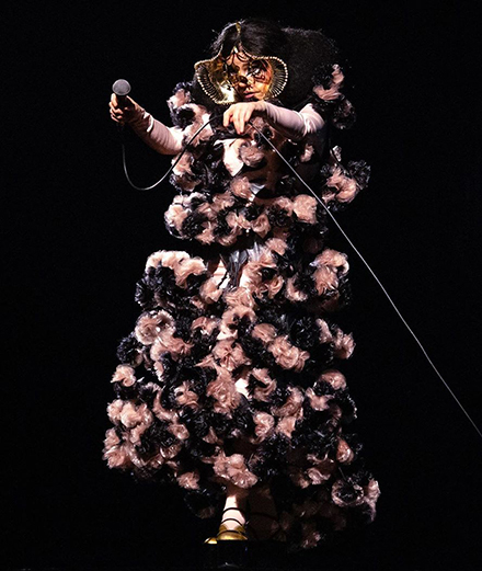 Björk de retour à Paris pour deux concerts exceptionnels