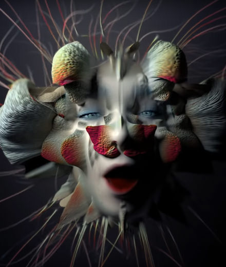 Björk transforms herself once again in her new music video