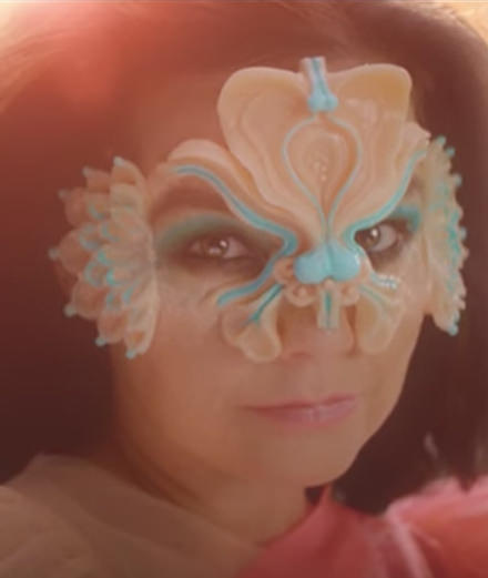 "Björk does Gucci in her new video for ""The Gate"""