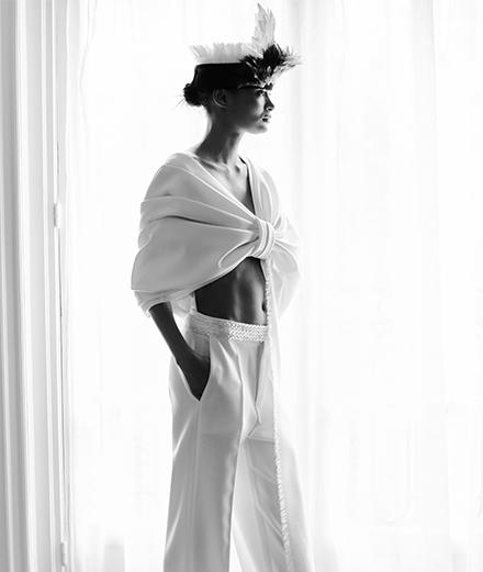 La collection Bouchra Jarrar haute couture automne-hiver 2020-2021