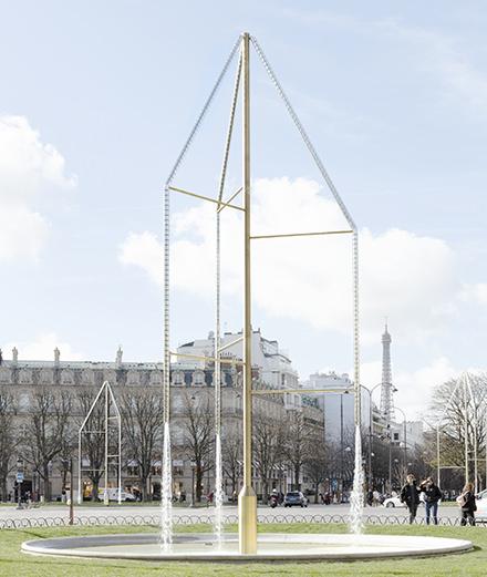 Quand les frères Bouroullec font renaître les fontaines des Champs-Élysées