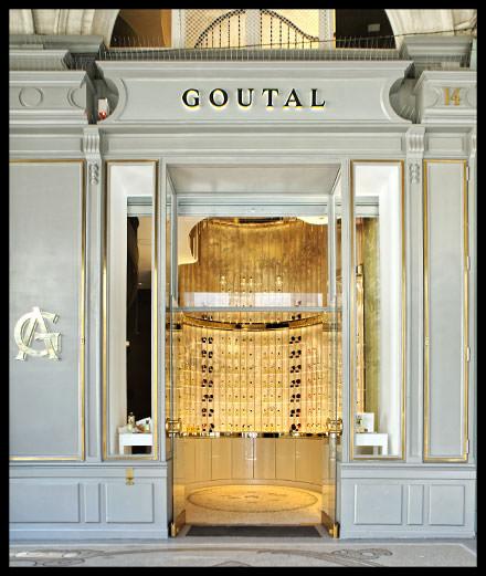 La boutique Goutal, rue de castiglione à Paris, réouvre ses portes