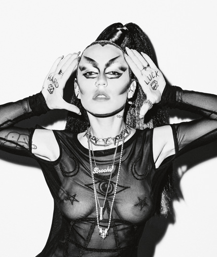 Who is Brooke Candy, the indomitable trash and neofeminist rapper?