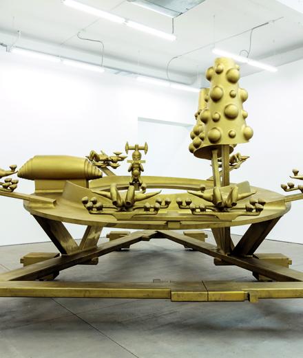 Bruno Gironcoli, l'artiste perdu au fond d'un zoo