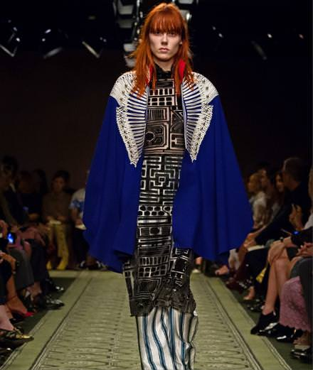 """Burberry """"see now buy now"""" fashion show at the Markers House at Soho"""