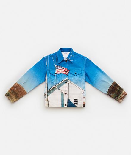 Raf Simons fusionne l'héritage denim de Calvin Klein avec la culture américaine