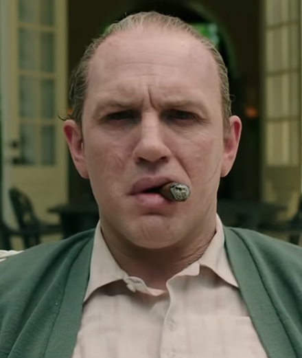 Tom Hardy plays Al Capone in this gory biopic