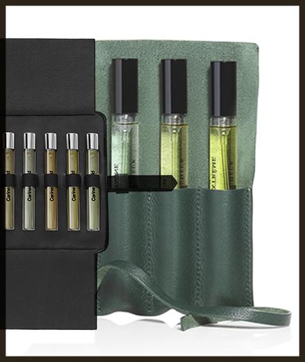 Le set nomade signé Carine Roitfeld ou L'artisan Parfumeur