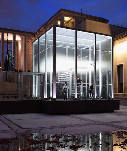 Comment Cartier a embaumé le bassin du Palais de Tokyo