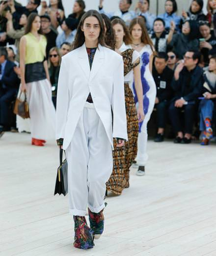Céline Spring-Summer 2017 show by Phoebe Philo