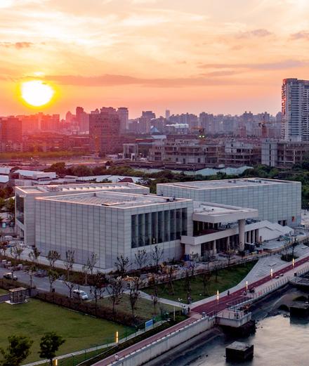Que peut-on voir au nouveau Centre Pompidou à Shanghai?