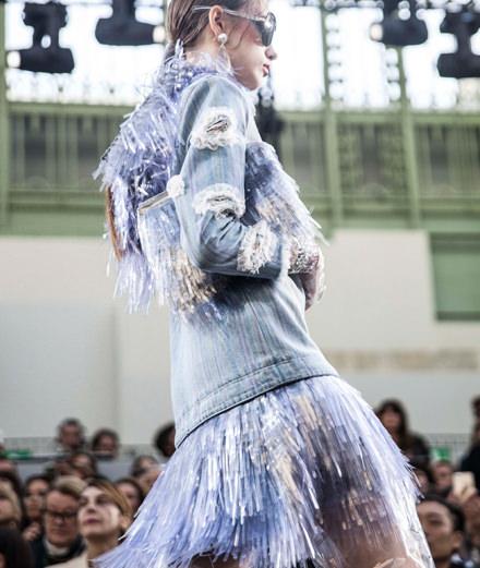 Le défilé Chanel printemps-été 2018 vu par Mehdi Mendas