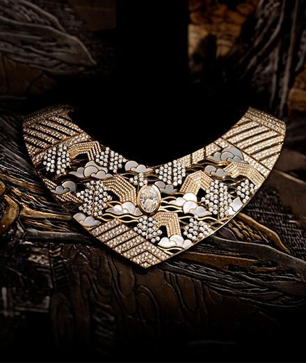 Chanel s'inspire des paravents de Coromandel dans sa nouvelle collection haute joaillerie