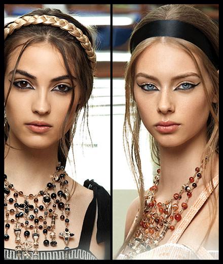 Les déesses au regard mystérieux de Chanel