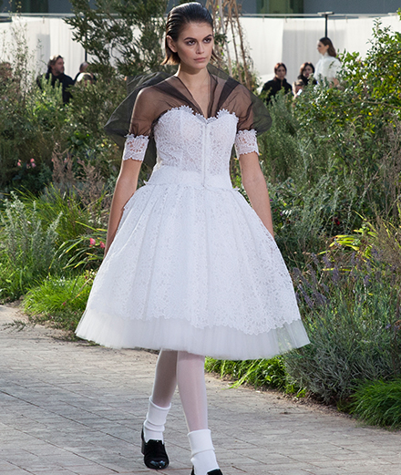 Chanel haute couture spring-summer 2020 fashion show seen by Mehdi Mendas