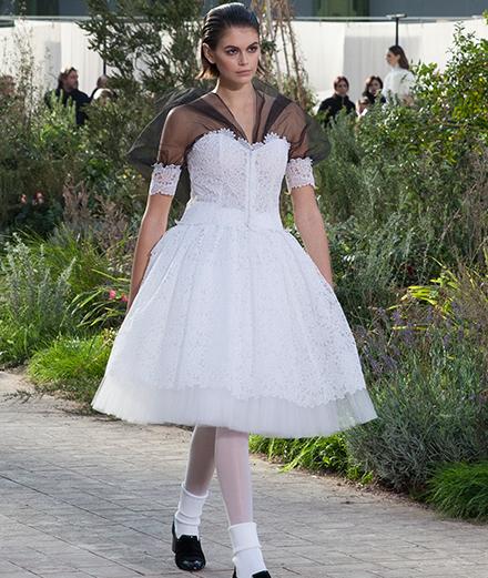 Le défilé Chanel haute couture printemps-été 2020 vu par Mehdi Mendas