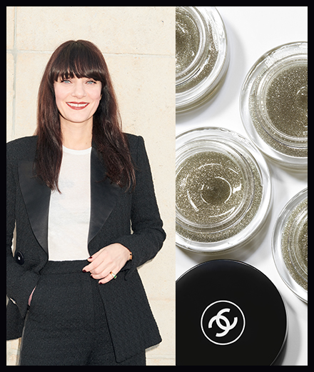 Coup de coeur de la semaine, le gel pailleté Chanel signé Lucia Pica