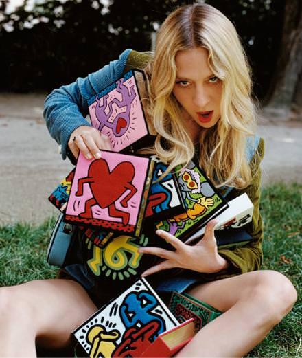 Olympia Le-Tan x Keith Haring : la collaboration pop de la rentrée