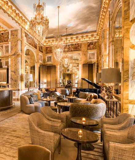 Que nous réserve l'hôtel de Crillon pour les fêtes de Pâques?