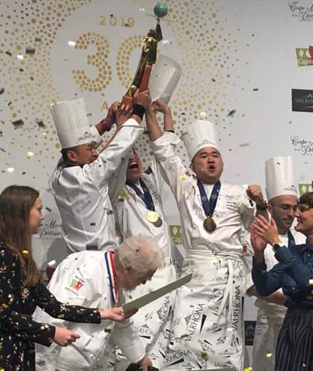 Quel pays a remporté la Coupe du monde de pâtisserie 2019 ?