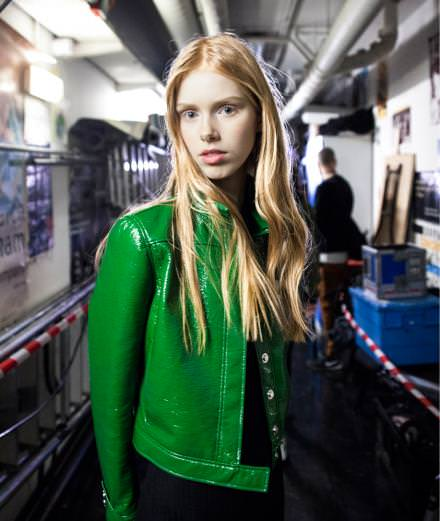 Backstage: inside Courrèges fall-winter 2016-2017 runway show