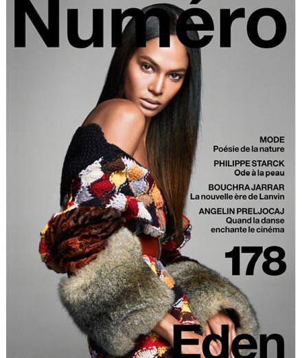 Cover story : Joan Smalls by Greg Kadel in the November issue of Numéro