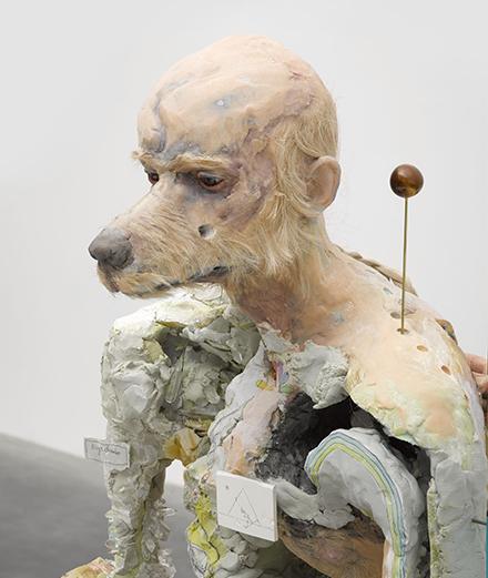 Les monstres de David Altmejd se décuplent à la galerie White Cube