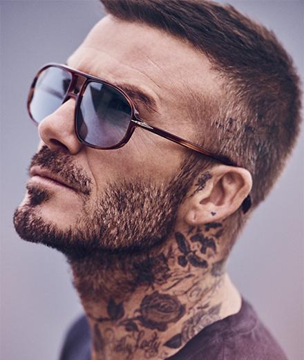 5 questions à David Beckham sur sa première collection de lunettes avec Safilo