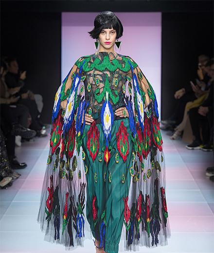Le défilé Armani Privé haute couture printemps-été 2020