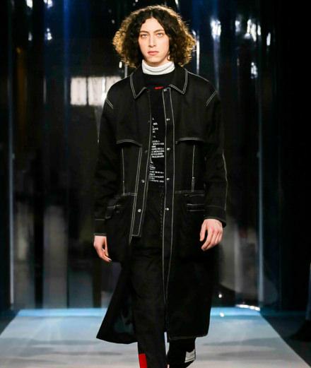 AVOC men fall-winter 2018 fashion show
