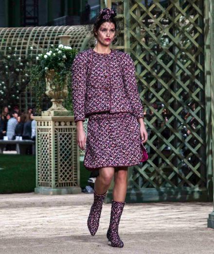 Le défilé Chanel haute couture printemps-été 2018 vu par Mehdi Mendas