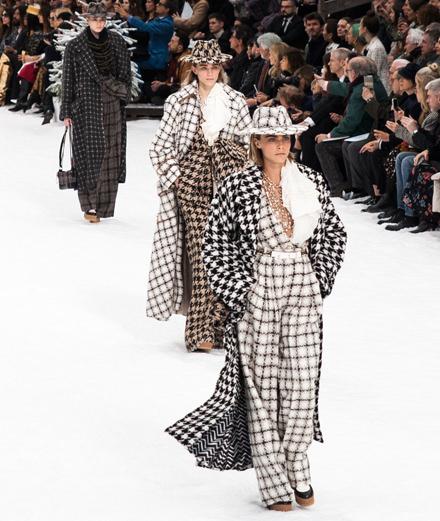 Le défilé Chanel automne-hiver 2019-2020 vu par Mehdi Mendas