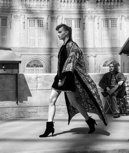 Le défilé Chanel haute couture automne-hiver 2018-2019 vu par Mehdi Mendas