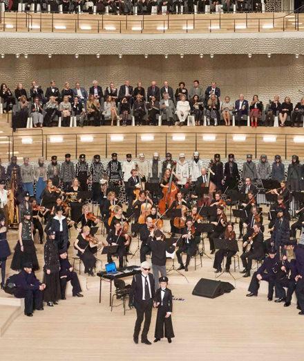 Le défilé Chanel Métiers d'art Paris-Hambourg