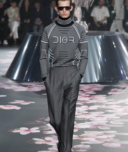 Le défilé pre-fall 2019 de Kim Jones pour Dior Homme