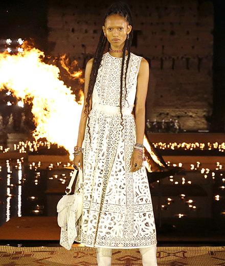 Le défilé Dior croisière 2020 à Marrakech