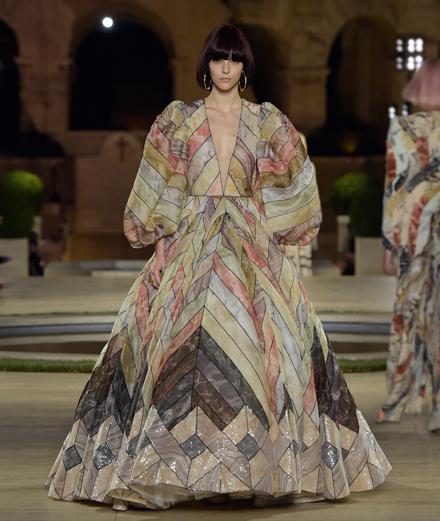 Le défilé Fendi haute couture automne-hiver 2019-2020 à Rome
