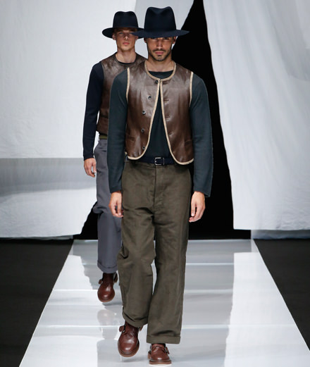 Giorgio Armani men spring-summer 2019 fashion show
