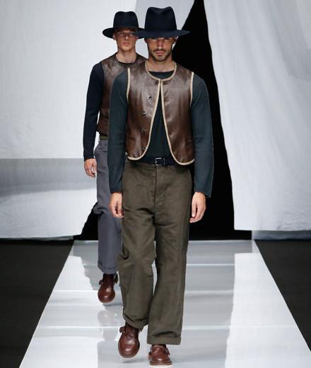 Giorgio Armani men spring-summer 2019 fashion show