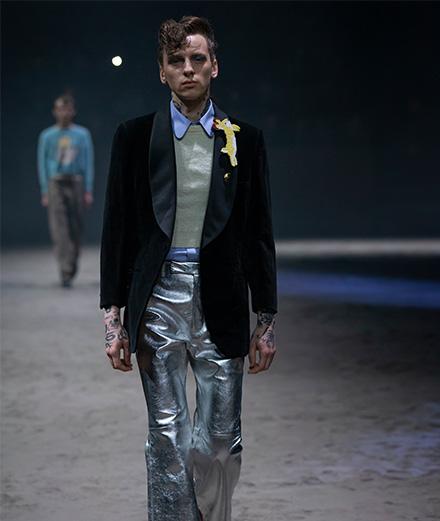 Le défilé Gucci homme automne-hiver 2020-2021