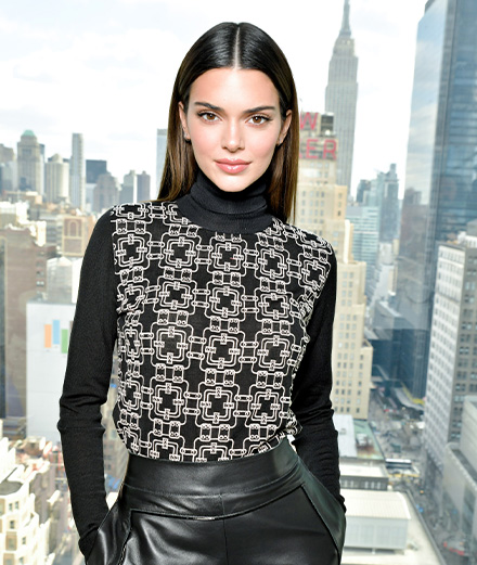 Kendall Jenner et Coco Rocha au défilé Longchamp automne-hiver 2020-2021
